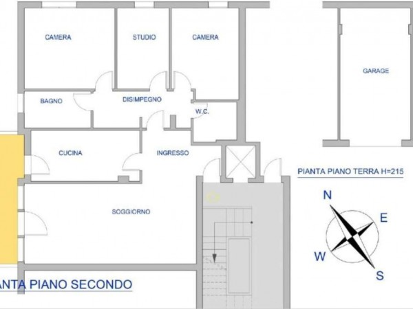Appartamento in vendita a Padova, Con giardino, 90 mq - Foto 2