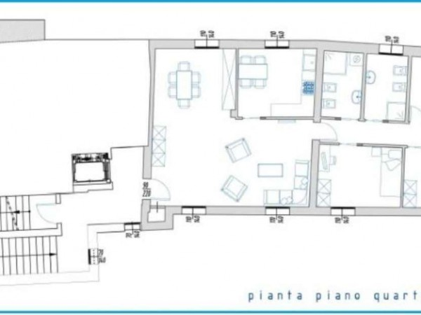 Appartamento in vendita a Padova, Savonarola, Con giardino, 125 mq - Foto 4