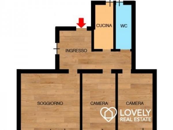 Appartamento in affitto a Monza, Buonarroti, 90 mq - Foto 2