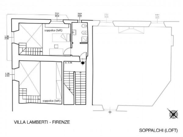 Appartamento in vendita a Firenze, Con giardino, 200 mq - Foto 2