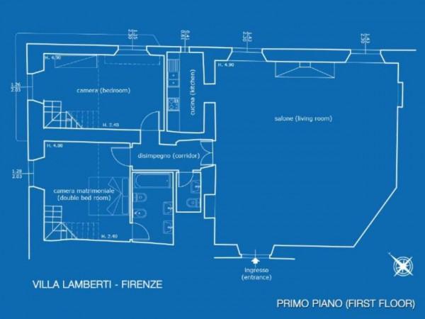 Appartamento in vendita a Firenze, Con giardino, 200 mq - Foto 12