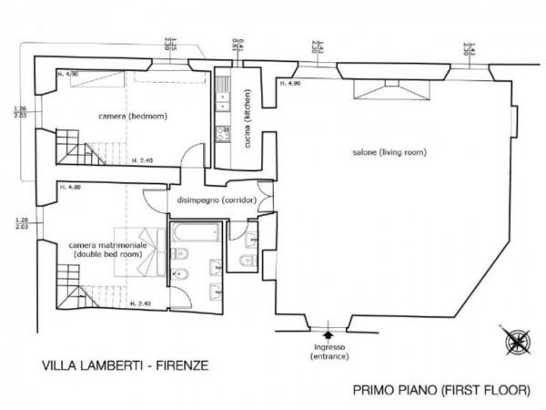 Appartamento in vendita a Firenze, Con giardino, 200 mq - Foto 3