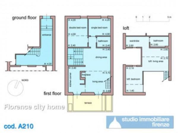 Appartamento in affitto a Firenze, Arredato, 125 mq - Foto 12