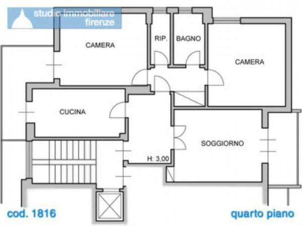 Appartamento in vendita a Firenze, 95 mq - Foto 2