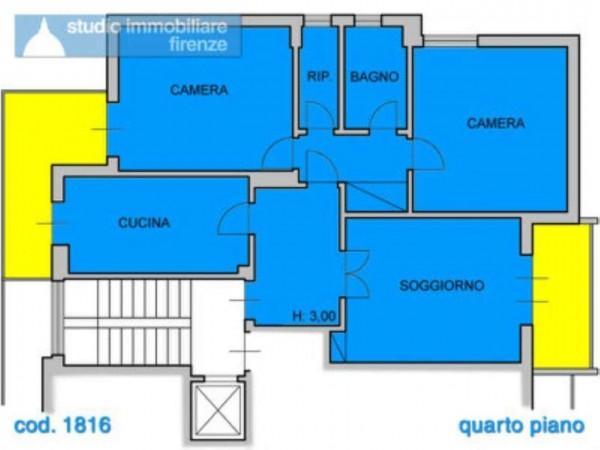 Appartamento in vendita a Firenze, 95 mq