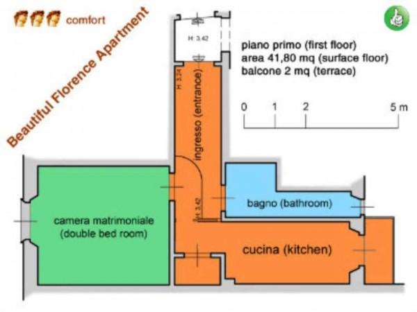 Appartamento in affitto a Firenze, Centro Storico, Arredato, 42 mq - Foto 2