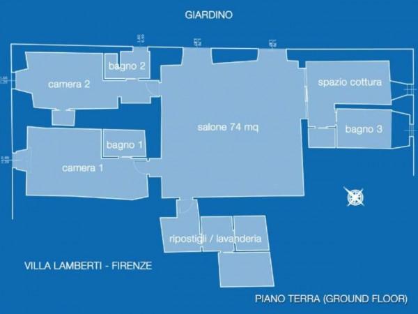 Appartamento in vendita a Firenze, Con giardino, 230 mq - Foto 25