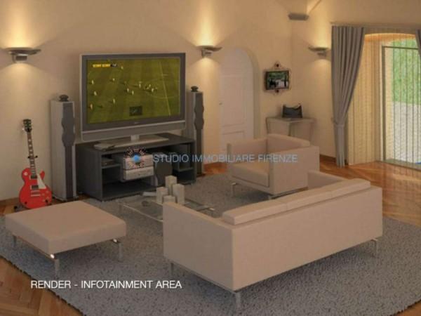 Appartamento in vendita a Firenze, Con giardino, 230 mq - Foto 12