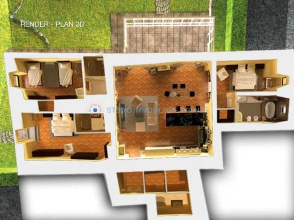 Appartamento in vendita a Firenze, Con giardino, 230 mq - Foto 2