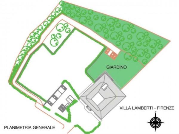 Appartamento in vendita a Firenze, Con giardino, 230 mq - Foto 3