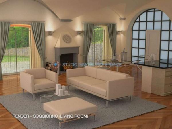 Appartamento in vendita a Firenze, Con giardino, 230 mq - Foto 13