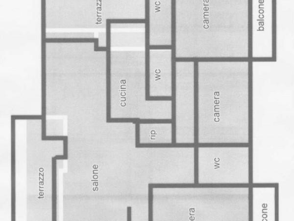 Appartamento in vendita a Roma, Cassia, Con giardino, 215 mq - Foto 2