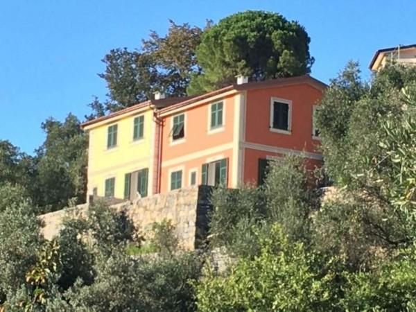 Villa in vendita a Rapallo, Campodonico, Con giardino, 126 mq - Foto 16