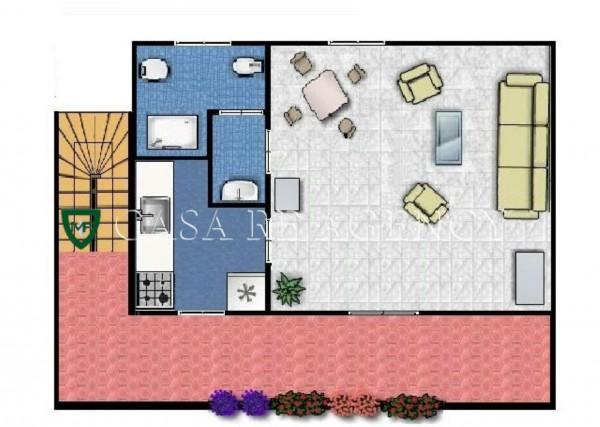 Appartamento in vendita a Varese, Stazioni, Con giardino, 44 mq - Foto 2
