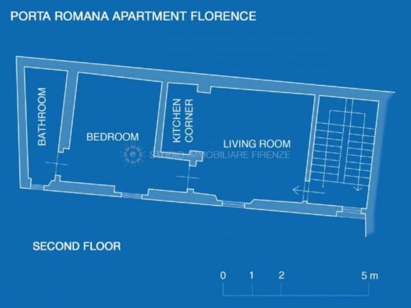 Appartamento in affitto a Firenze, Arredato, 35 mq - Foto 13