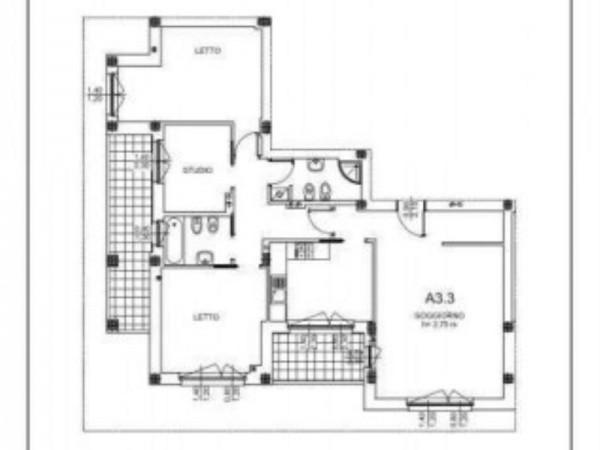 Appartamento in vendita a Milano, Salgari, Tito Livio, Con giardino, 125 mq - Foto 3