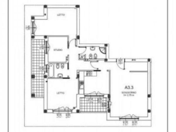Appartamento in vendita a Milano, Salgari, Tito Livio, Con giardino, 125 mq - Foto 11