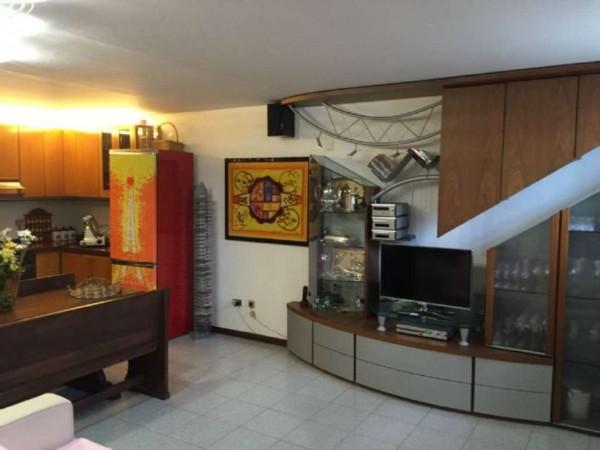 Villetta a schiera in vendita a Brugherio, Moia, 220 mq - Foto 8