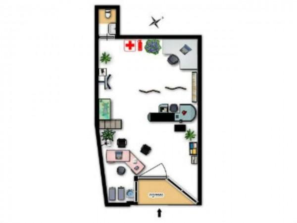 Negozio in affitto a Milano, 28 mq - Foto 2