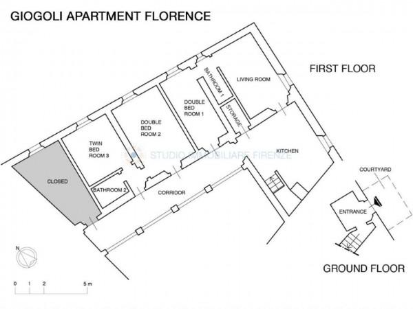 Appartamento in affitto a Firenze, Arredato, con giardino, 150 mq - Foto 2