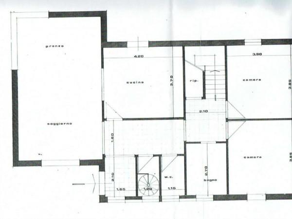 Villa in vendita a Borgo San Lorenzo, 350 mq - Foto 4