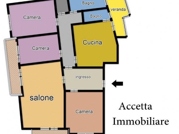 Appartamento in vendita a Taranto, Semicentrale, 180 mq - Foto 2