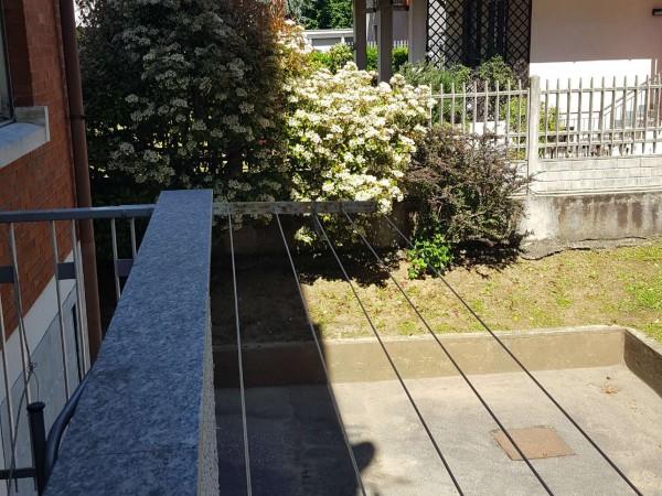 Appartamento in vendita a Gallarate, Caiello, Arredato, con giardino, 90 mq - Foto 34