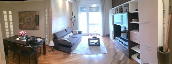 Appartamento in vendita a Vedano al Lambro, Parco, Arredato, con giardino, 110 mq - Foto 1