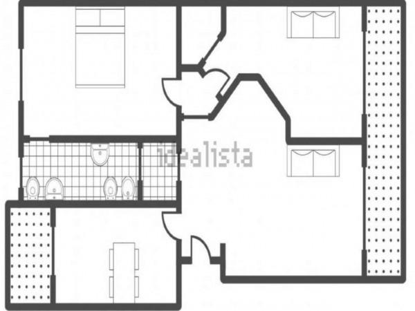 Appartamento in vendita a Vedano al Lambro, Parco, Arredato, con giardino, 110 mq - Foto 7