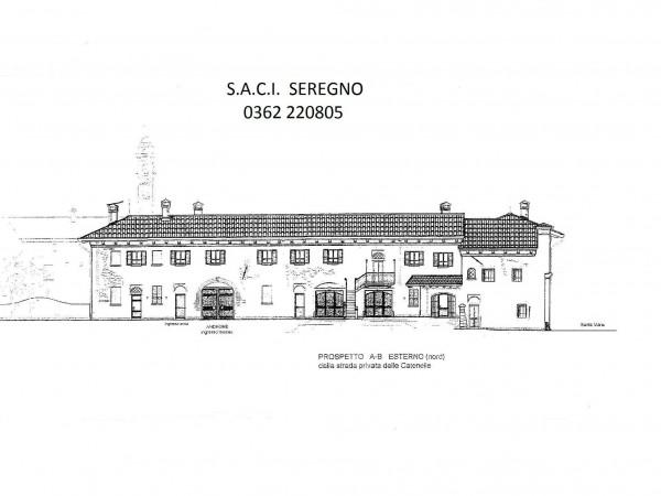 Rustico/Casale in vendita a Meda, Centralissima, Con giardino, 2640 mq - Foto 6