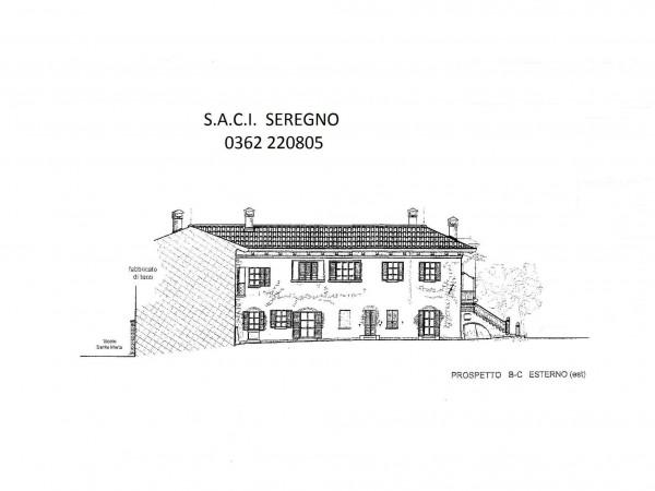 Rustico/Casale in vendita a Meda, Centralissima, Con giardino, 2640 mq - Foto 7
