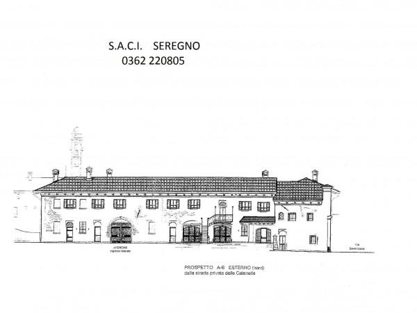 Rustico/Casale in vendita a Meda, Centralissima, Con giardino, 2640 mq - Foto 9