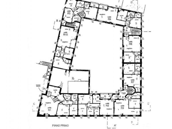 Rustico/Casale in vendita a Meda, Centralissima, Con giardino, 2640 mq - Foto 3