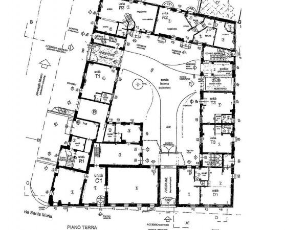 Rustico/Casale in vendita a Meda, Centralissima, Con giardino, 2640 mq - Foto 2