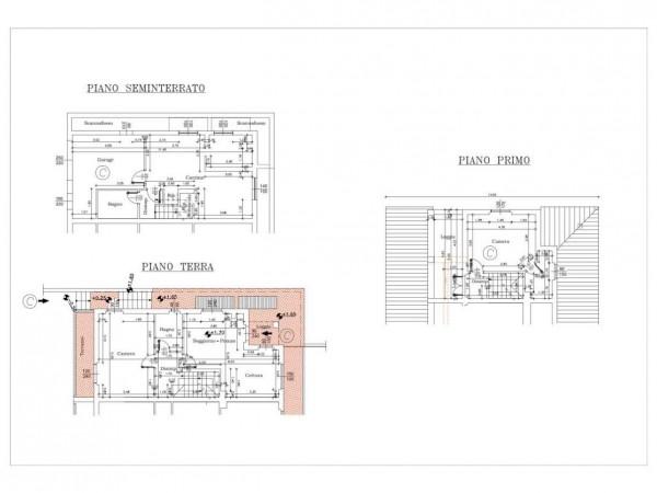 Casa indipendente in vendita a Rignano sull'Arno, Con giardino, 130 mq - Foto 3