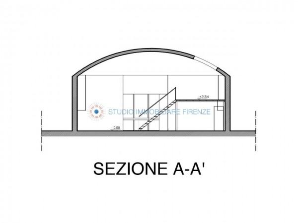 Capannone in vendita a Firenze, 380 mq - Foto 2