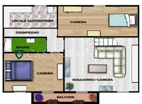 Appartamento in vendita a Induno Olona, San Cassano, Con giardino, 140 mq - Foto 5