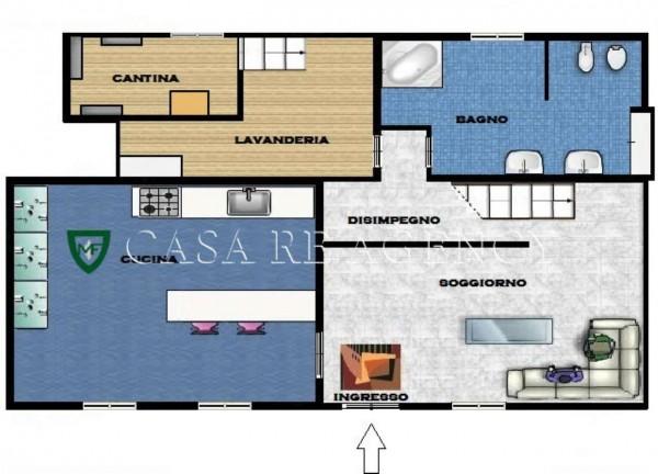 Appartamento in vendita a Induno Olona, San Cassano, Con giardino, 140 mq - Foto 2