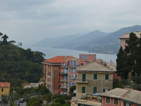 Appartamento in vendita a Camogli, Via Castagneto, Con giardino, 65 mq