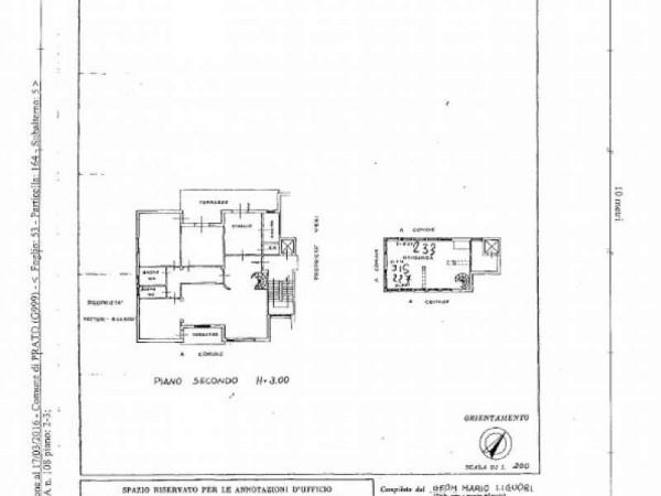Appartamento in vendita a Prato, Con giardino, 238 mq - Foto 5