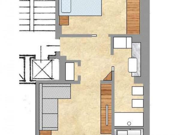 Appartamento in vendita a Torino, Parella, Arredato, 60 mq - Foto 11