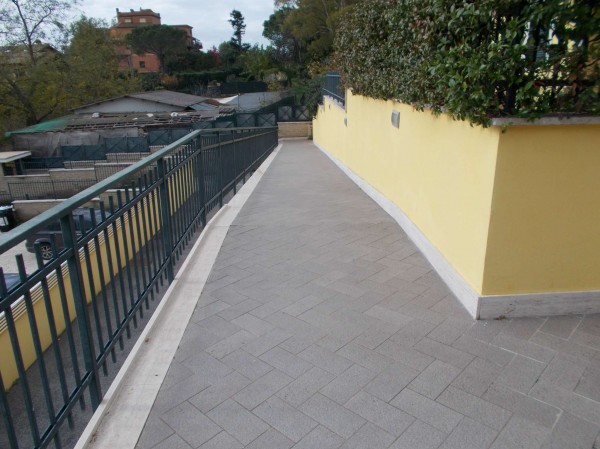 Villetta a schiera in vendita a Roma, Casal Lumbroso, Con giardino, 265 mq - Foto 4