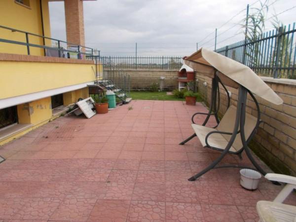 Villetta a schiera in vendita a Roma, Casal Lumbroso, Con giardino, 265 mq - Foto 7