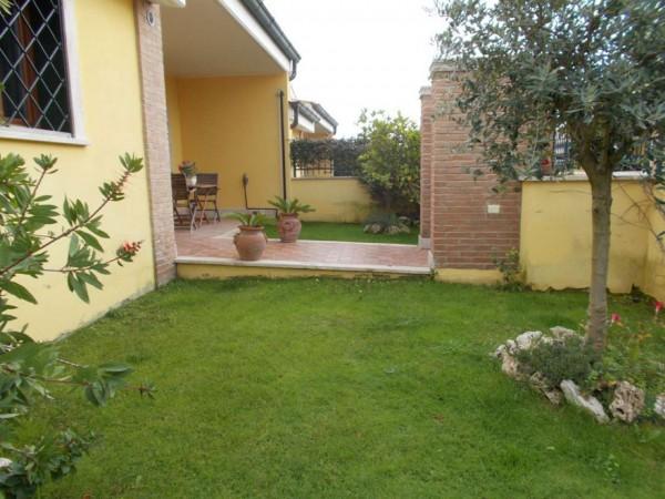 Villetta a schiera in vendita a Roma, Casal Lumbroso, Con giardino, 265 mq - Foto 5