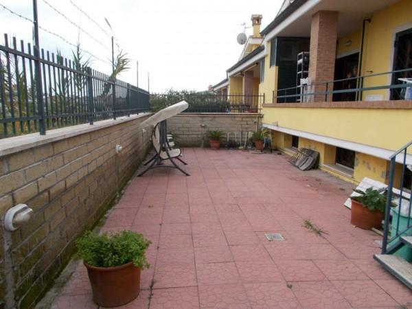 Villetta a schiera in vendita a Roma, Casal Lumbroso, Con giardino, 265 mq - Foto 9