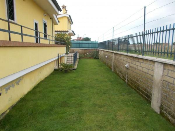 Villetta a schiera in vendita a Roma, Casal Lumbroso, Con giardino, 265 mq - Foto 8
