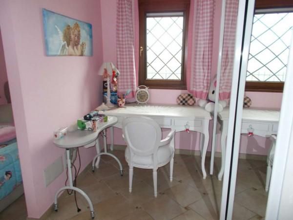 Villetta a schiera in vendita a Roma, Casal Lumbroso, Con giardino, 265 mq - Foto 25