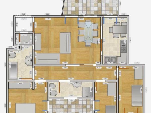 Appartamento in affitto a Milano, Q.re Adriano, 60 mq - Foto 9