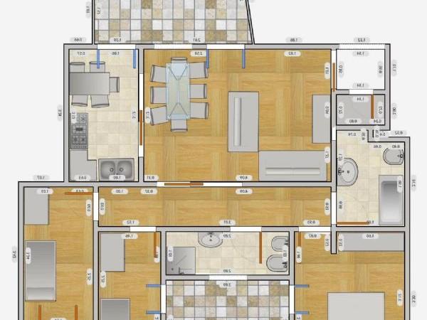 Appartamento in affitto a Milano, Q.re Adriano, 60 mq - Foto 8