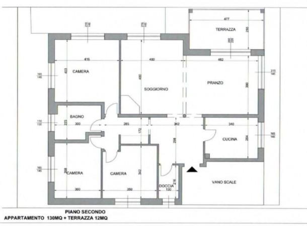 Appartamento in affitto a Milano, Lambrate, 120 mq - Foto 2